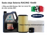 Sada oleje Selenia RACING 156 TS do 2001 ECOnomy