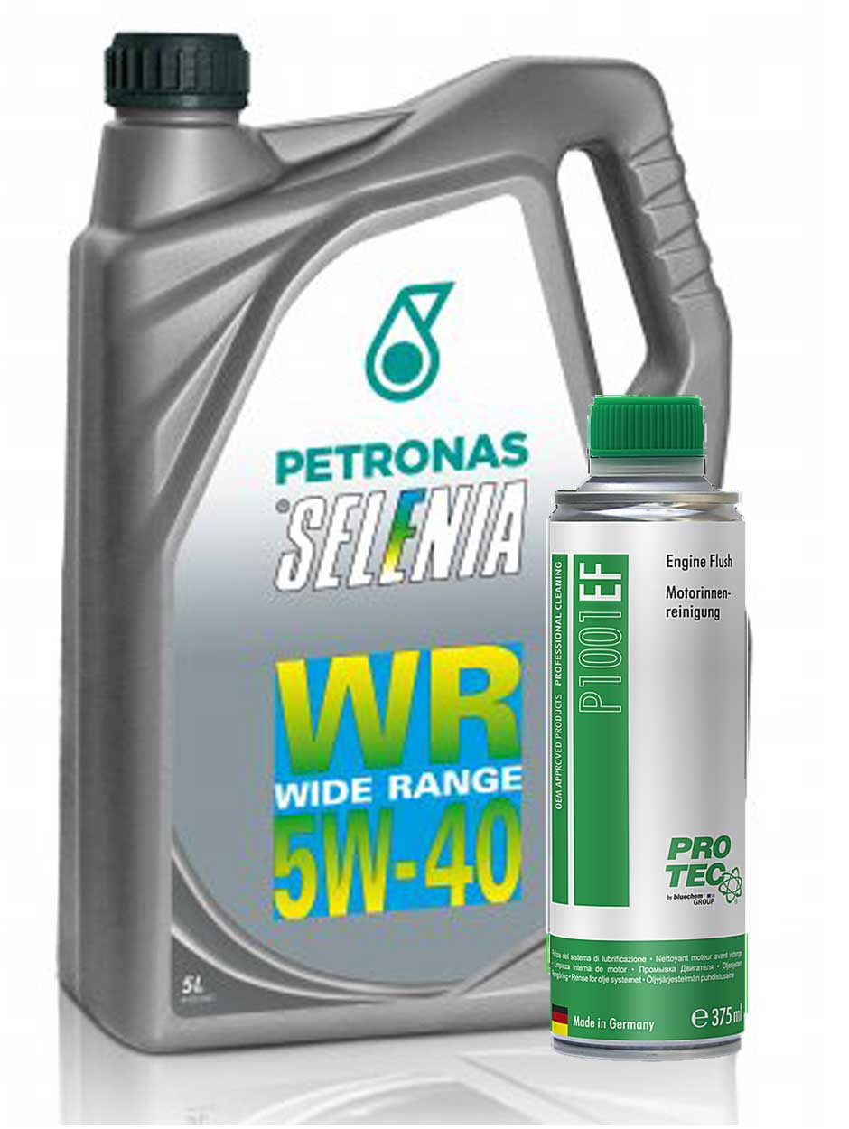 Selenia WR Diesel 5W-40 5l + Engine Flush