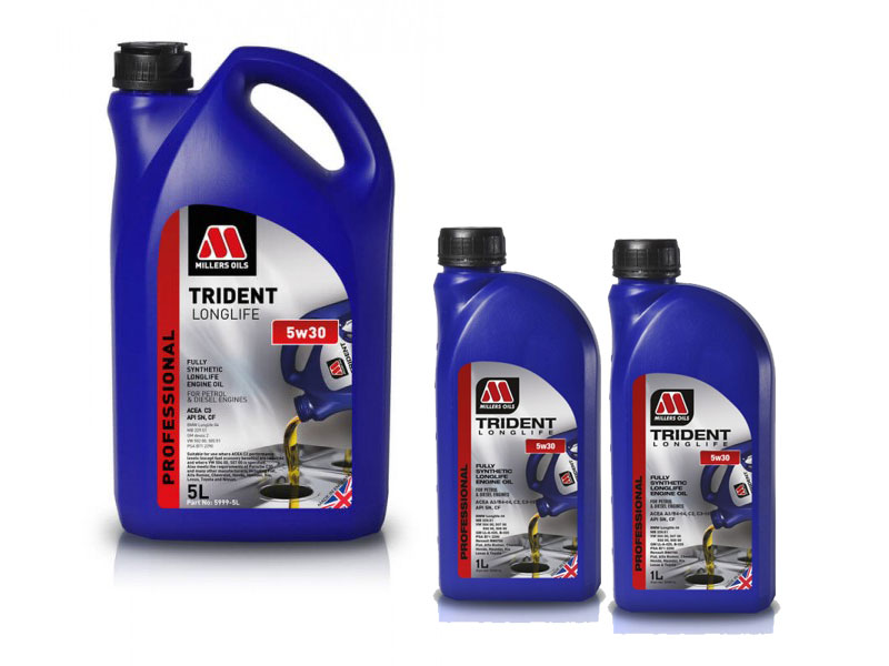 Millers Oils Trident Longlife 5W-30 7l