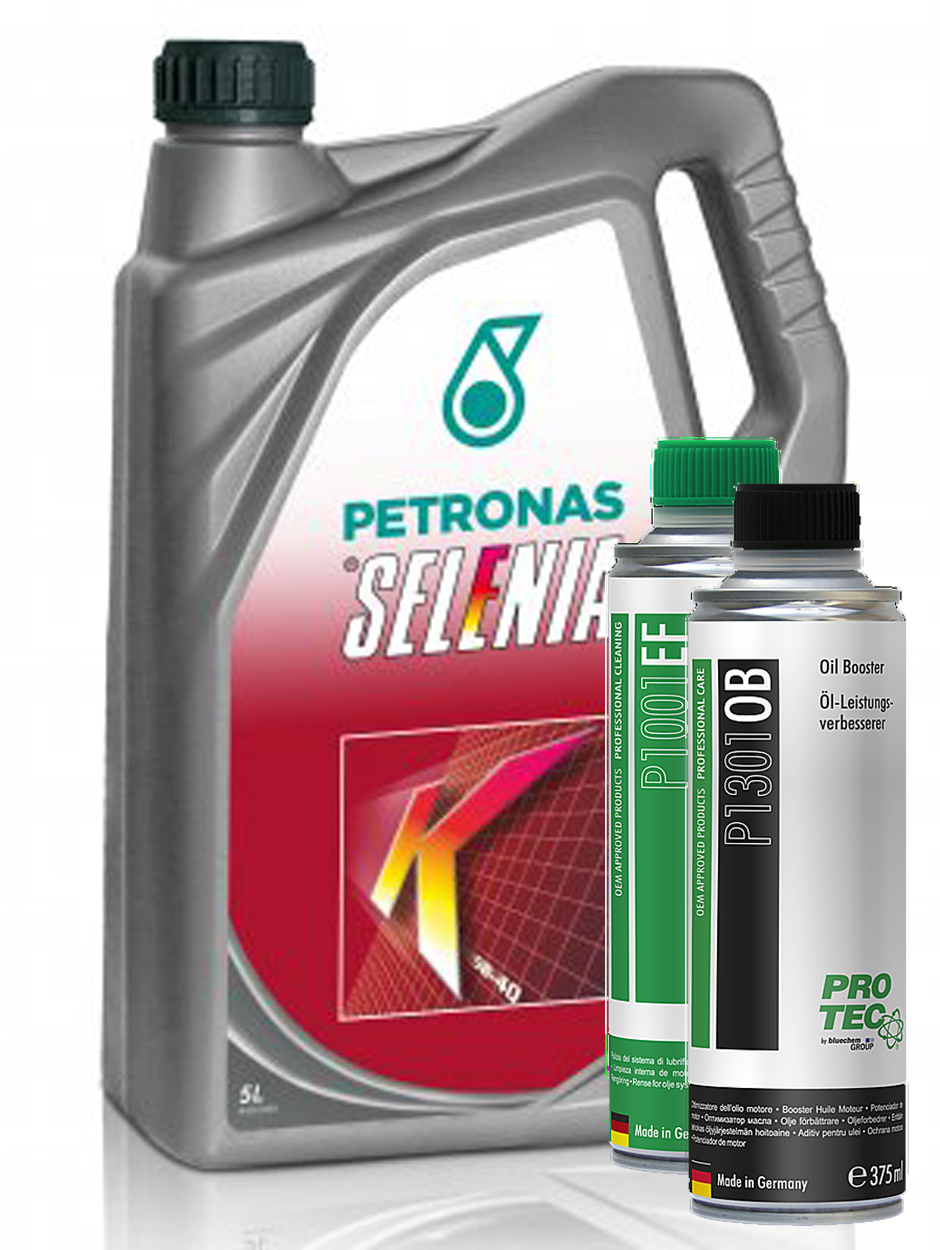 Selenia K Pure Energy 5W-40 5L + Engine Flush a Booster