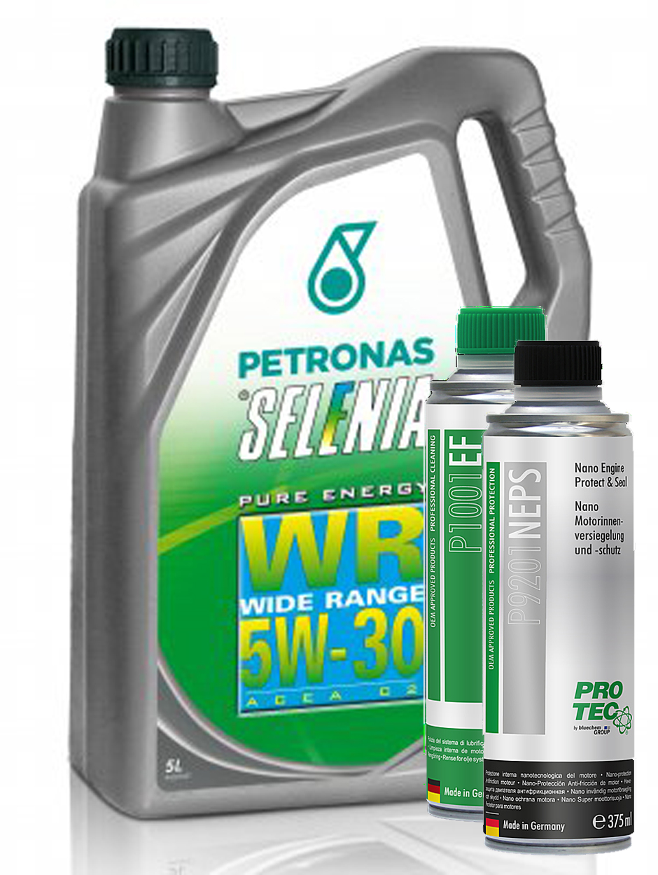 Selenia WR Diesel Pure Energy 5W-30 5L + Engine Flush a Nano Engine Protect